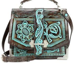 Patricia Nash Tooled leather purse